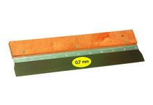 Gipsmessen RVS hout