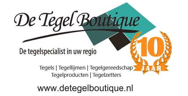 De Tegel Boutique 10 jaar!