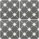 Vloertegel Cronos Grey 20x20 cm - vloerimpressie