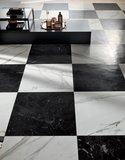 vloertegel Roma Statuario mat 75x75 - impressie vloer