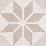 decortegel Materia Decor Star Ivory 20x20_