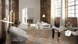 Vloertegel Terrazzo tegels Casale Firenze cotto 25x25_
