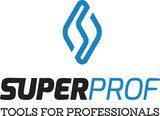 Spackmes SUPER PROF aluminium L = 570mm RVS met houten handgreep_