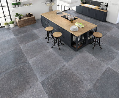 vloertegel Blue Stone Grey 60x60 rett