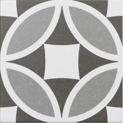 vloertegel Olympia Grey 20x20