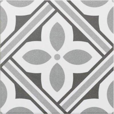vloertegel Atenea Grey 20x20