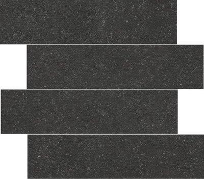 wandtegel Belgium Pierre Black 14,8x60 rett