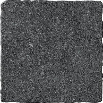 vloertegel Bluestone Noir 20x20 getrommeld
