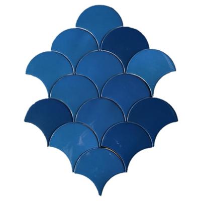 Wandtegel Grandeur Hawaian Blue 12,5x6,3 cm