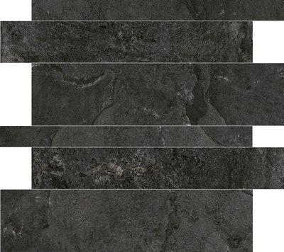 Tegelstroken Cerdisa Blackboard Anthracite 5-10-15x60cm