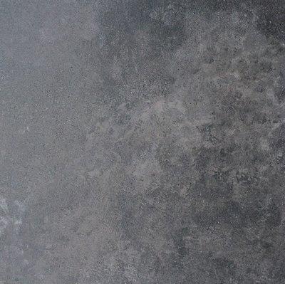 vloertegel Gravel Antraciet 60x60 rett