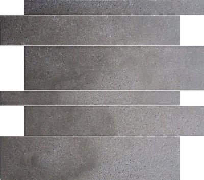 vloertegel Gravel stroken Mud 5-10-15x60 rett