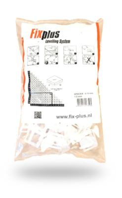 Fix Plus Tegel Levelling Clips 1,5mm. 100 st.