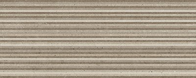 Wandtegel Metropoli Brown decor Slot 20x50