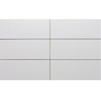 Wandtegel Wandtegels wit mat 20x50