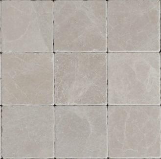 Vloertegel Burdur beige marmer anticato 10x10x1