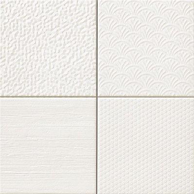 Wandtegel Glint Blanco 44,2x44,2