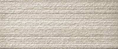 wandtegel Neutra Relief Decor Cream 30x90 rett