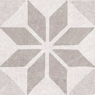 decortegel Materia Decor Star White 20x20