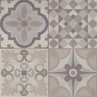 decortegel Skyros Gris decor 44,2x44,2