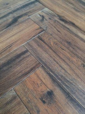 Vloertegel Keramisch parket Real Wood Castagno 15x60