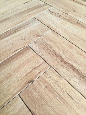 Vloertegel Keramisch parket Real Wood Nocciolo 15x60