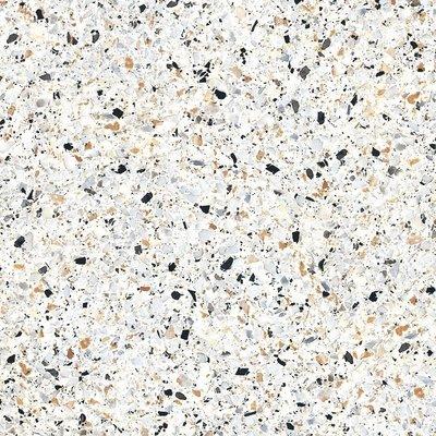 Vloertegel Terrazzo tegels Casale Graniglia bianco 25x25