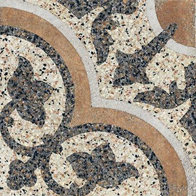 Vloertegel Terrazzo tegels Casale Siena cotto 25x25