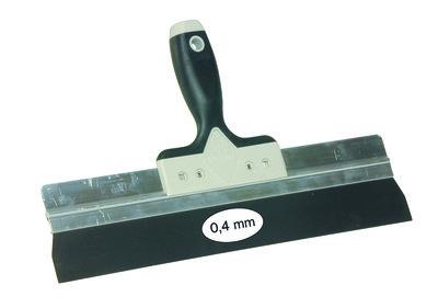 Spackmes SUPER PROF aluminium L = 285mm RVS met Amerikaanse SUPERSOFT-handgreep
