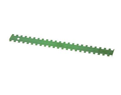 Lijmmes vierkante vertanding 10x10x10mm doos 3 st