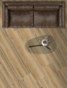 Vloertegel Woodbreak Oak 20x121 rett - sfeerimpressie