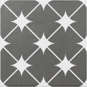 Vloertegel Cronos Grey 20x20 cm
