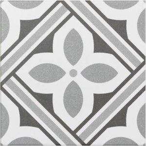 Vloertegel Atenea Grey 20x20 cm