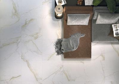 Vloertegel Diamond Gold mat 75x75 cm - sfeerimpressie