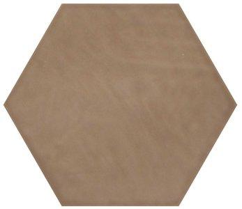 Hexagon wandtegel Vodevil Moka 17,5x17,5 cm