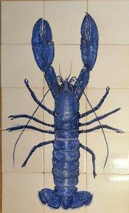 Tegeltableau Kreeft - Lobster