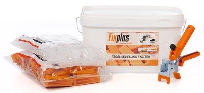 Fix Plus Tegel Levelling Starters Kit 100 PRO 2mm