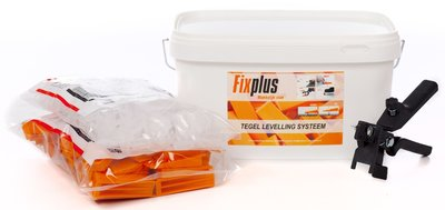 Fix Plus Tegel Levelling Starters Kit 250 BASIC 2mm