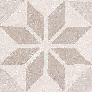 decortegel Materia Decor Star Ivory 20x20