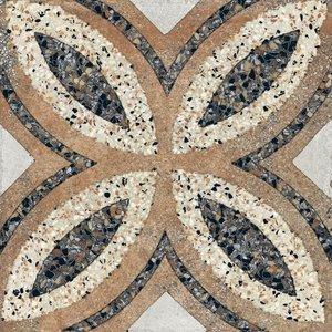 Vloertegel Terrazzo tegels Casale Firenze cotto 25x25