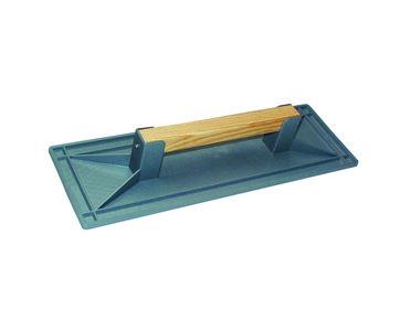 Schuurbord met houten greep 440x150mm